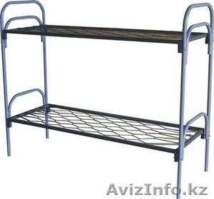 Кровати металлические для времянок, кровати для бытовок, кровати железные дёшево - Изображение #5, Объявление #1428552