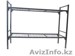 Кровати металлические для времянок, кровати для бытовок, кровати железные дёшево - Изображение #1, Объявление #1428552