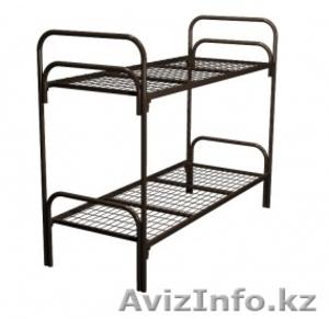 Кровати металлические для времянок, кровати для бытовок, кровати железные дёшево - Изображение #2, Объявление #1428552