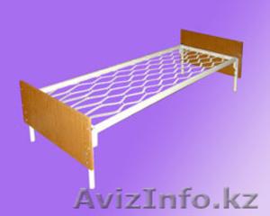 Кровати металлические для времянок, кровати для бытовок, кровати железные дёшево - Изображение #3, Объявление #1428552